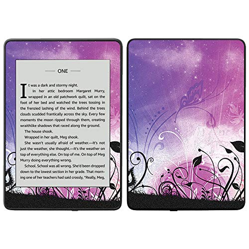 MightySkins Skin Compatible with Amazon Kindle Paperwhite 2018 (Waterproof Model) - Rise and Shine | Protective, Durable, and Unique Vinyl Decal wrap Cover | Easy to Apply, Remove| Made in The USA