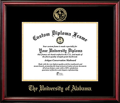 University of Alabama Affordable Diploma Frame (8.5 X 11) by Diploma Frame Deals