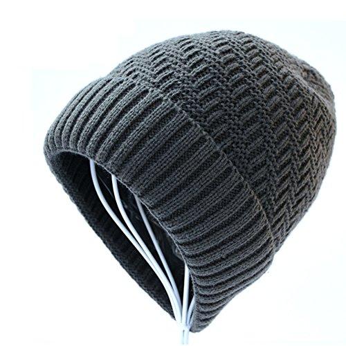 de de gorro Cachemira de Añadir grueso invierno Los de Sombrero el moda punto A lana Sombreros hombres 1ExFq