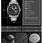 51%2BMLN8oUjL. SS150  - Skmei Mens Watches Top Brand Luxury Quartz Analog LED Digital Analog Watch Men (All Black)