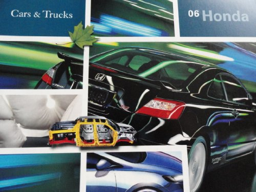 2006 Honda Civic / Accord / Insight / Odyssey / CR-V / Pilot / Element / Ridgeline Sales Brochure