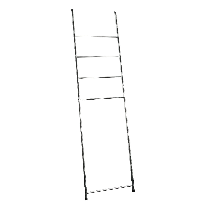 Portasciugamano bremermann®, portasciugamano con 4 barre per montaggio a parete 91414