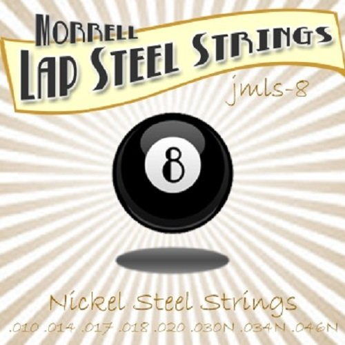 Joe Morrell Premium JMLS-8 8-String Lap Steel String Set (3 Pack) String C6 Pedal Steel Guitar