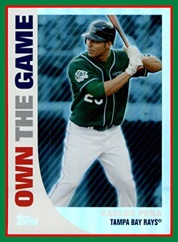 2008 Topps Own the Game #OTG4 Carlos Pena TAMPA BAY - Game Carlos Pena