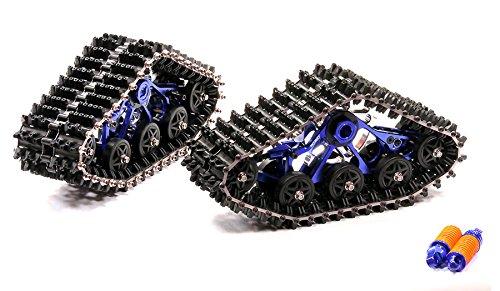 Integy RC Model Hop-ups T4124BLUE Snowmobile & Sandmobile Conversion for 1/10 T-Maxx 4907, 4908, etc., req. T4123