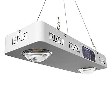 2Pcs 200W LED Grow Light Panel Lampe Voll Spektrum Pflanze Blumen Gemüse Dimmbar