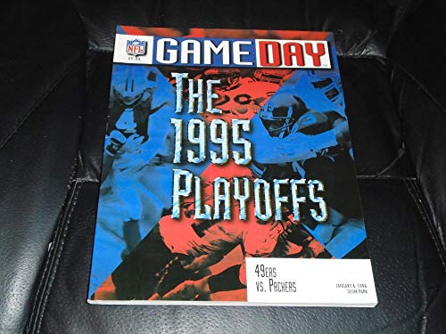 1995 NFC PLAYOFF FOOTBALL PROGRAM GREEN BAY PACKERS VS SAN FRANCISCO 49ERS (Green Bay Packers Vs San Francisco 49ers)