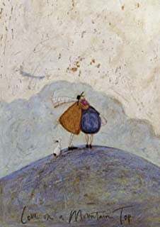 The best is yet to come sam toft open greeting card st1803 love on a mountain top open anniversary card by sam toft st m4hsunfo