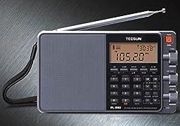 Tecsun PL Seies Radio Stainless Steel Replacement Telescopic Antenna for Tecsun PL880,PL660,PL390,PL398,PL398BT, Radios