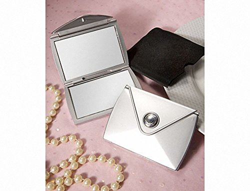 Fashionable Purse Design Compact Mirror Favors by Fashioncraft