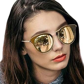 Gafas de sol de ojo de gato para mujeres, gafas polarizadas ...