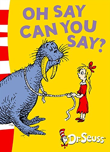 Download Oh Say Can You Say?: Green Back Book (Dr. Seuss - Green Back Book) pdf epub