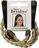Mia Beauty Thin Braidie Head Band, Blonde, 0.05 Ounce