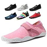 Cheston Women's Barefoot Quick Dry Aqua Water Shoe (2. Women 8 B(M) US, Pink)