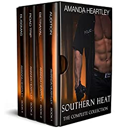 Southern Heat Complete Series Box Set: A Small Town Romance by [Heartley, Amanda]