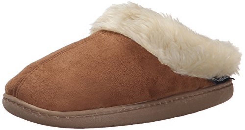 Woolrich Women's Cabin Lounger Slipper, Chestnut, 6 M US