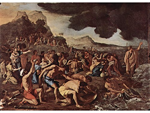 The Crossing of The Red Sea by Nicolas Poussin (The Crossing Of The Red Sea Poussin)