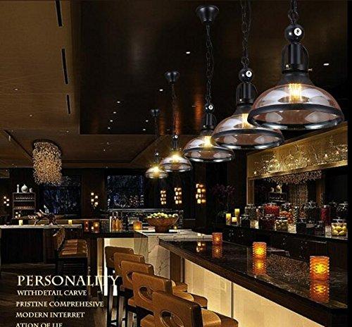 WYF-candelabro Snooker Loft Retro Cristal araña Personalidad ...