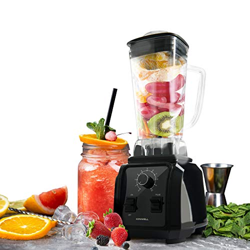 Kenwell 1450W Professional Blender 66oz High-Speed Blender/Mixer System, Shakes Smoothies Ice and Frozen Fruit