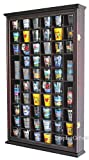 56 Shot Glass Shooter Display Case Holder Cabinet Wall Rack...
