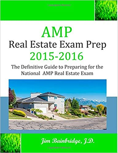 Amp Real Estate Exam Prep 2015 2016 The Definitive Guide
