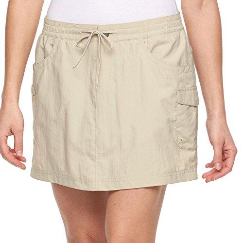 - Columbia Women's Amberley Stream Cargo Skort Skirt Size XS Fossil