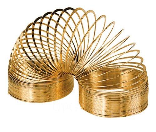 Original Slinky Brand 14 Karat Gold Plated Slinky