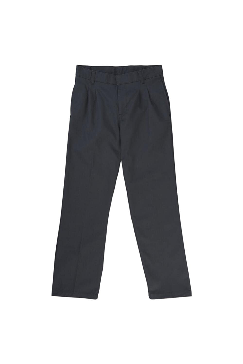French Toast Boys Pleated Double Knee Pant with Adjustable Waist