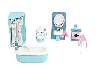 Le Toy Van Daisylane Puppenhaus Möbel – Badezimmer: Amazon.de: Spielzeug