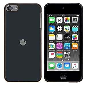 "Be-Star Único Patrón Plástico Duro Fundas Cover Cubre Hard Case Cover Para iPod Touch 6 ( Deathstar Mínimo"" )"