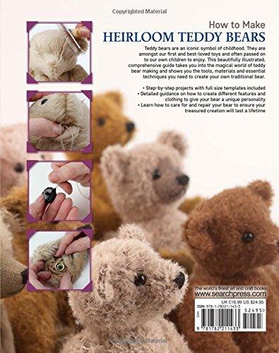 How to Make Heirloom Teddy Bears: Sue Quinn: 9781782211433: Amazon ...