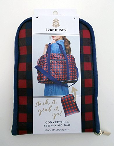 Pure Honey Convertible Stow-N-Go Bag