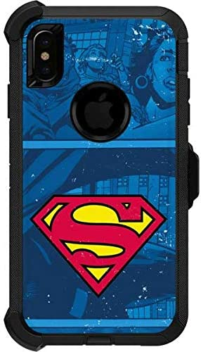 Amazon Com Skinit Decal Skin For Otterbox Defender Iphone Xs Max Officially Licensed Warner Bros Superman Logo Design