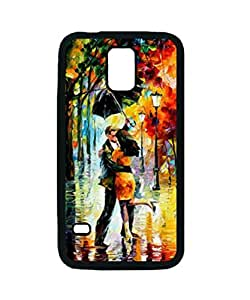 Leonid Afremov Dance Under The Rain Custom Diy Unique Image Durable Rubber Silicone Case for Samsung Galaxy S5 I9600