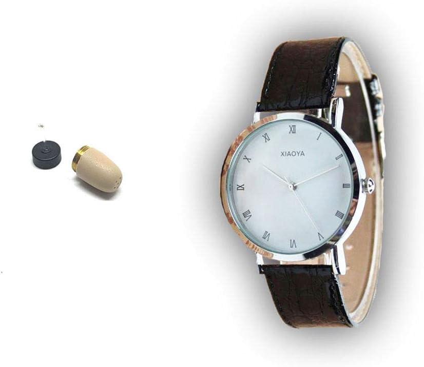 Reloj Bluetooth con Micrófono + Auricular Invisible VIP Pro Supermini de Pinganillos Ocultos