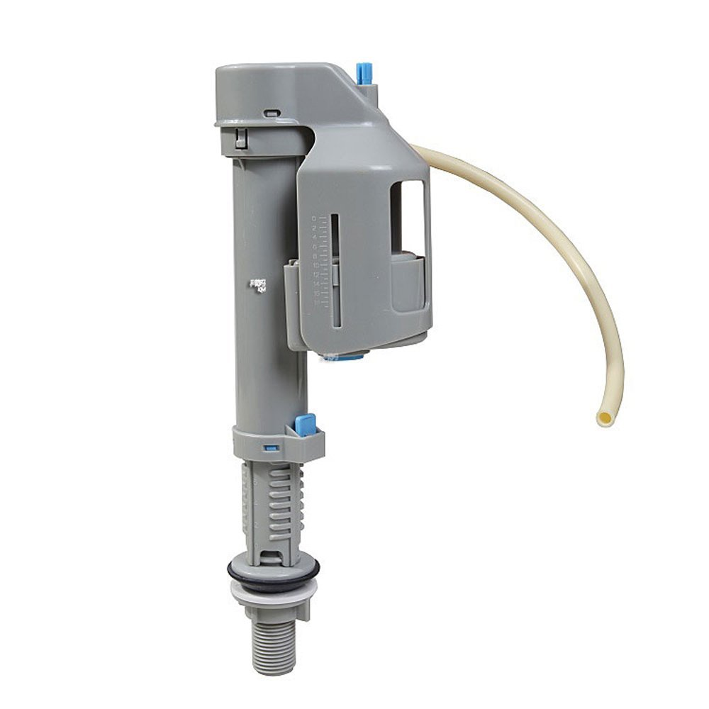 Toilet Replacement Parts Water Tank Inlet Fill Valve Adjustable for Most One-piece & Two-piece Toilets