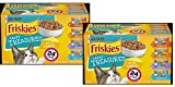 Friskies Gravy Wet Cat Food Variety Pack; Tasty Treasures with Cheese - (24) 5.5 oz. Cans / 2 -Pack