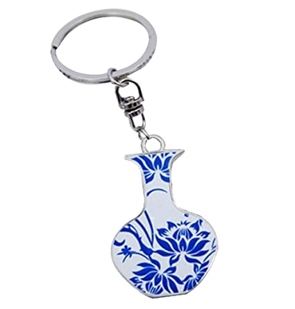4 piezas llavero retro creativo estilo chino llavero pequeño ...