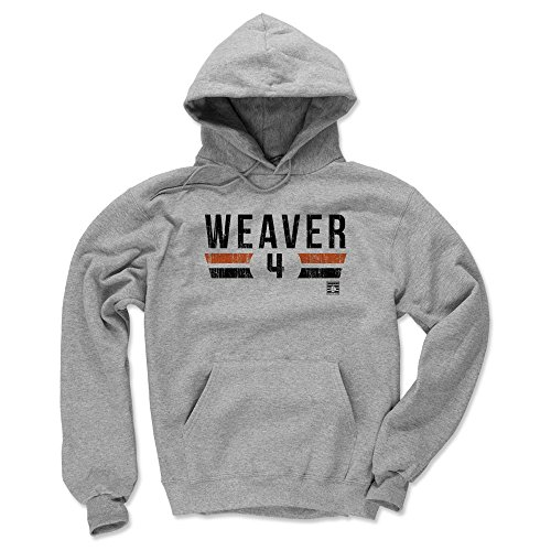 500 LEVEL Earl Weaver Baltimore Orioles Hoodie Sweatshirt (X-Large, Gray) - Earl Weaver Font K
