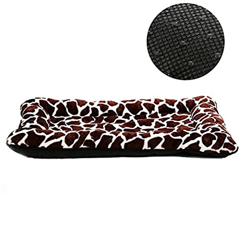 HUALAN Ultra-Soft Pet Bed Crate for Small Dogs and Cats Nonslip Mattress, 30