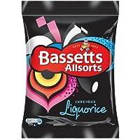 Bassetts Liquorice Allsorts 190g - Pack of 6 by Bassett's
