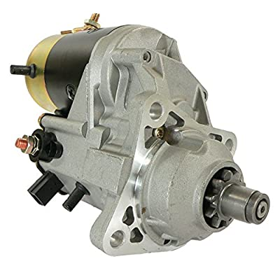 DB Electrical SND0707 New Starter For Motor Cummins Industrial Engine 228000-8850 228000-8851 10T 24V Cw ND228080-8852 ND228000-8852 3957595 228000-8850 228000-8851 228000-8852 228080-8852 19168: Automotive