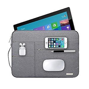 Audirex Water Drop Proof Laptop Tablet Sleeve Handbag for 12 – 13.3 Inch MacBook Air | MacBook Pro Retina 2012 – 2019…