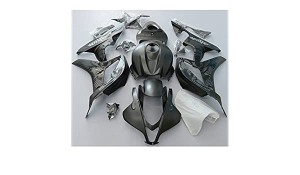 Amazon com: ZXMOTO Limited Edition Matte Black Graffiti Fairing Kit