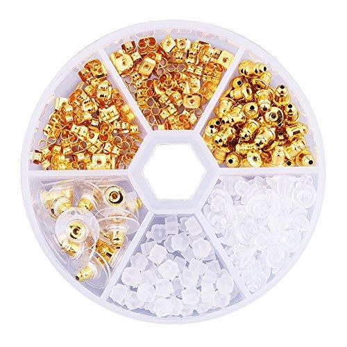 PandaHall Plastic Earnut Earring Jewelry