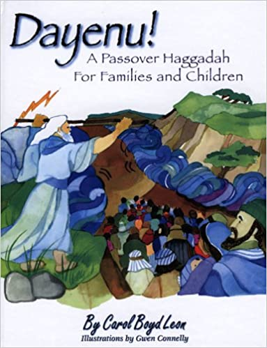 picture regarding Children's Passover Seder Printable titled Dayenu!: A Pover Haggadah for People and Kids