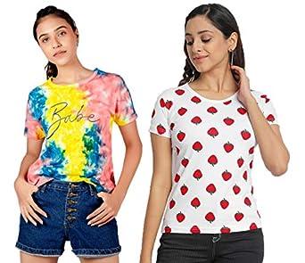 JUNEBERRY Women's T-Shirt (Pack of 2)