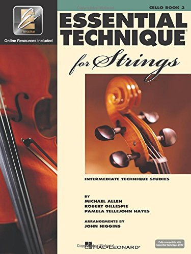 Essential Technique for Strings with EEi: Cello (Intermediate Technique Studies) ()