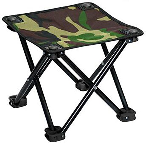 Outdoor Folding Stool Oxford Materials 13mm Iron Pipe bracket , (Pipe Material)