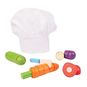 Bigjigs Toys Cutting Vegetables Chef Set